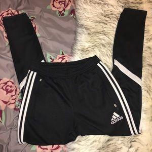Classic Adidas Climalite 3 Stripe Athletic Pants